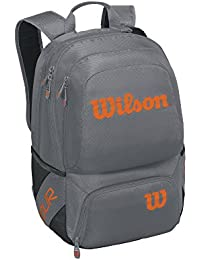 Wilson(ウイルソン) テニス ラケットバッグ TOUR V BACKPACK MEDIUM (ツアー V バックパック ミディアム) 1本収納可能