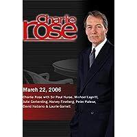 Charlie Rose (March 22, 2006) [並行輸入品]
