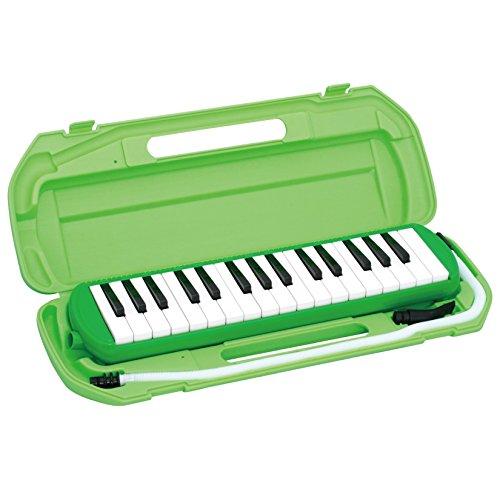 キクタニ 鍵盤ハーモニカ 32鍵 グリーン MM-32 GR...