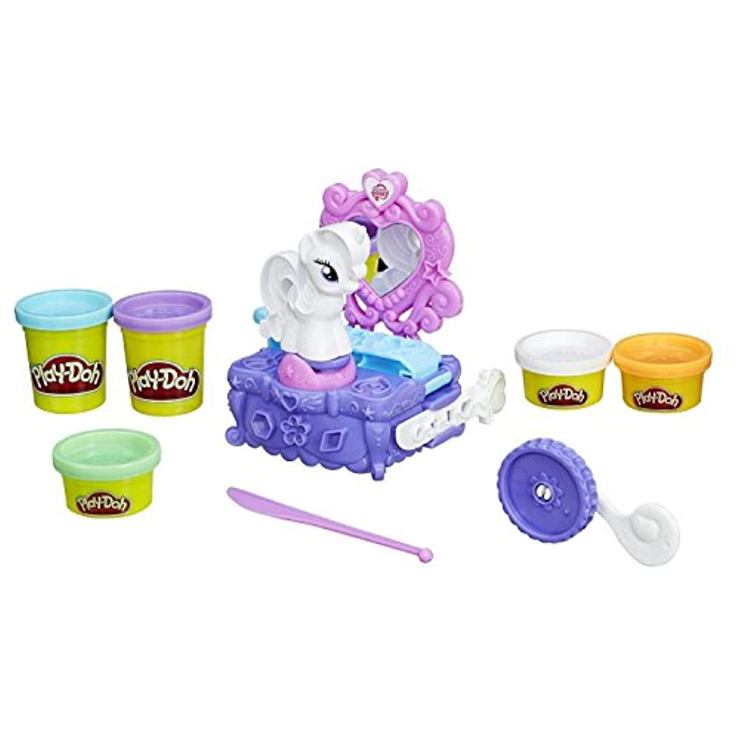Play-doh マイリトルポニー ラリティ スタイル & スピン セット 小麦ねんど [並行輸入品]