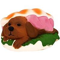 ハンバーガー形状yuaboz。Hキュート犬内側Lovely Squishyおもちゃコレクション