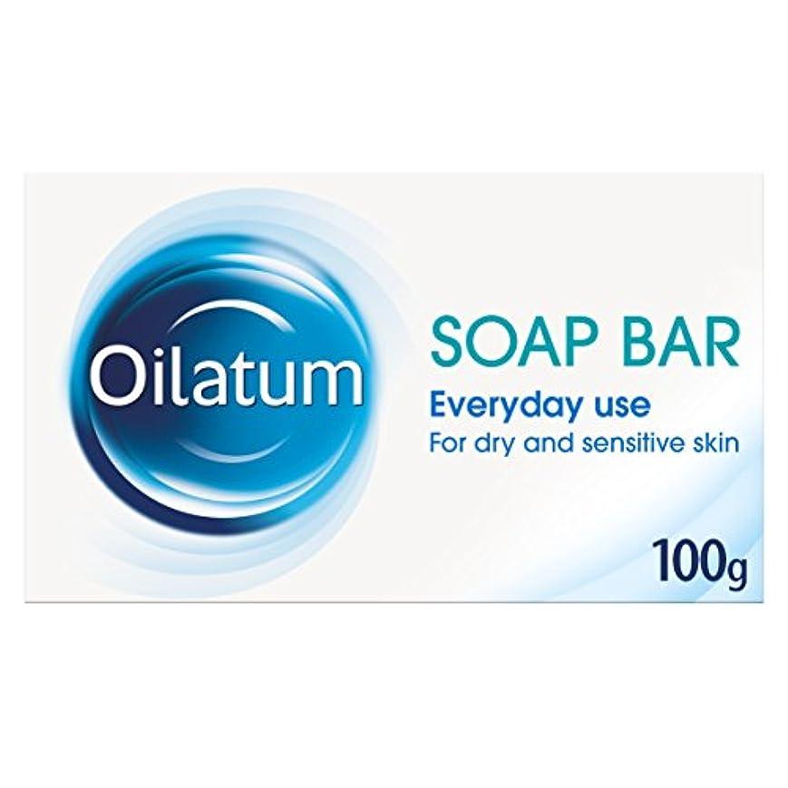 バランス避難自然Oilatum 100g Soap Bar for Dry Skin