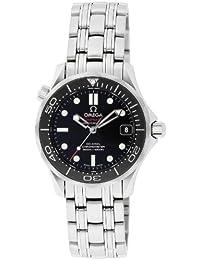 [オメガ]OMEGA 腕時計 シーマスター ブラック文字盤 コーアクシャル自動巻 300M防水 212.30.36.20.01.002 メンズ 【並行輸入品】