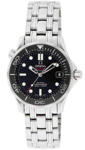[オメガ]OMEGA 腕時計 シーマスター ブラック文字盤 ...