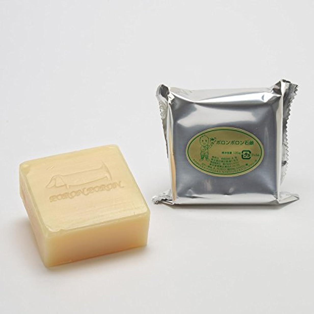 回転させるニコチンより平らなポロンポロン石鹸