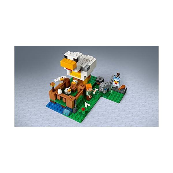 レゴ(LEGO) マインクラフト ニワトリ小屋...の紹介画像7