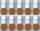 シグニア 補聴器用空気電池〔PR41 (S312)〕 10パックセットオムロン イヤメイト AK-04、AK-05・ミミー電子M-02などに[PR-41]