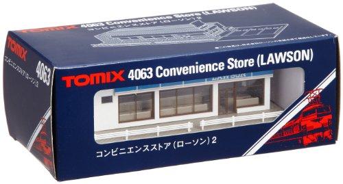 TOMIX Nゲージ コンビニエンスストア ローソン 2 4063 鉄道模型用品
