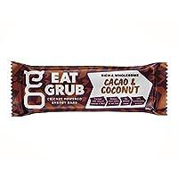 [Eat Grub] グラブカカオ&ココナッツ自然エネルギーバー36グラムを食べます - Eat Grub Cacao & Coconut Natural Energy Bar 36g [並行輸入品]