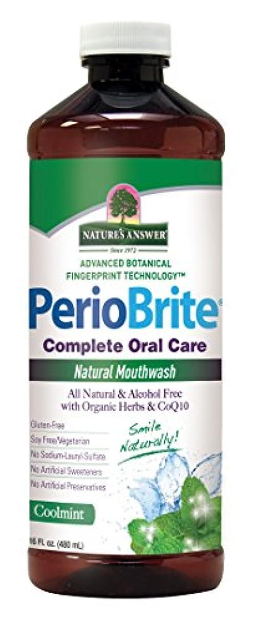 花火シンジケート白菜Nature's Answer Periowash Mouthwash, 475 ml (並行輸入品)