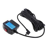 Baosity 12v/24v〜5v 3a 車  OBD ステップダウン ケーブル 電源 レギュレータ ライン DVR GPS 耐久性 互換性
