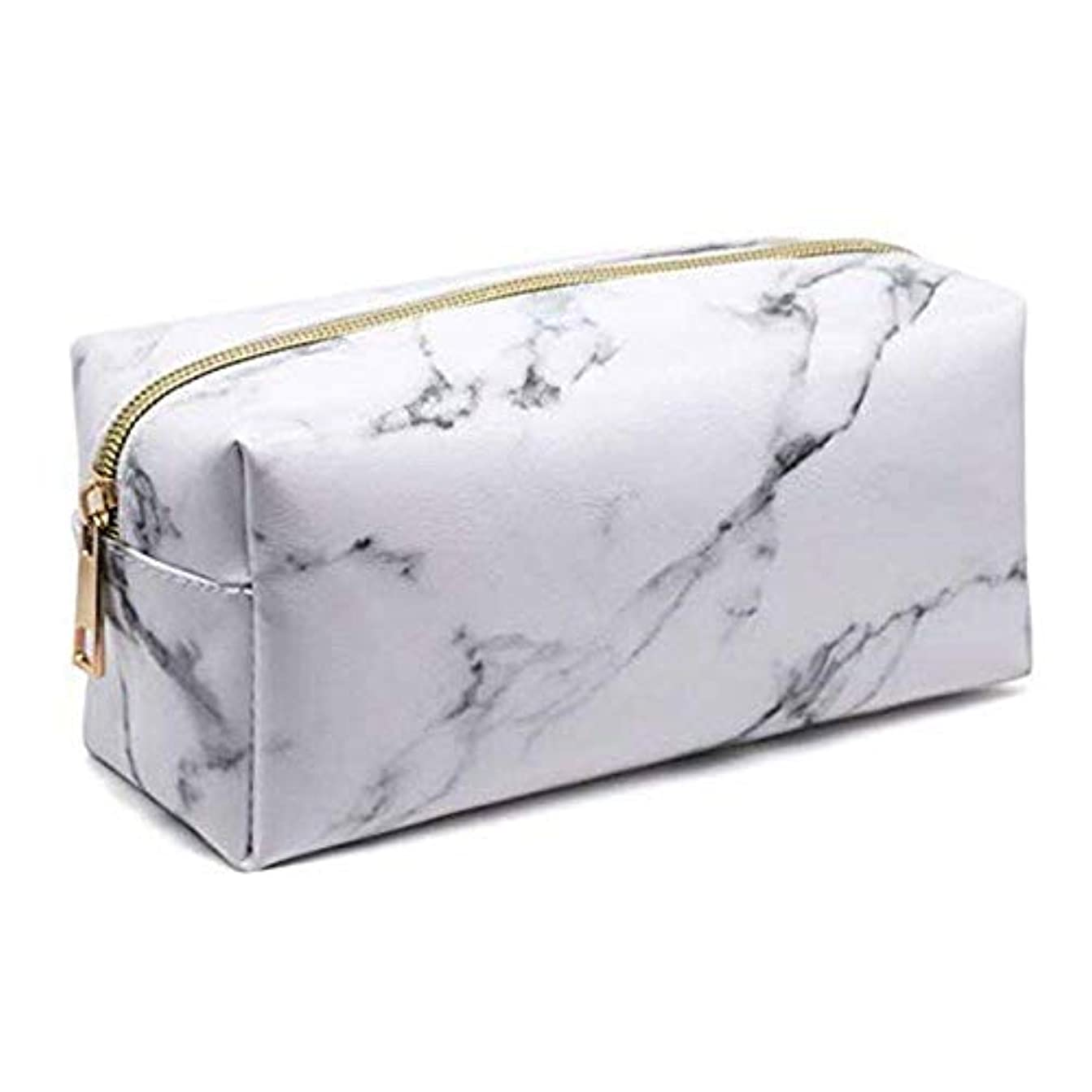 人差し指責ブルPichidr-JP 化粧品袋化粧品袋ゴールドジッパー旅行ウォッシュバッグ化粧品収納袋付き屋外