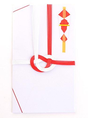 御祝儀袋 紅白あわじ無地 5枚セット 金封 のし袋 熨斗袋 結婚祝 結婚式 慶事 御見舞 御礼 寸志