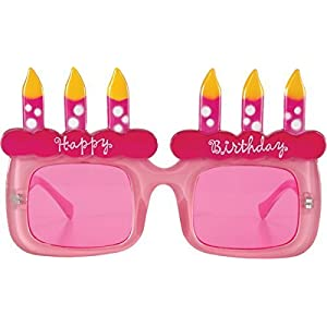 Elope Happy B''day Glasses (Light Pink/Pink) by Elope Inc. [並行輸入品]