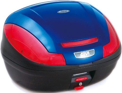 GIVI(ジビ)【イタリアブランド】 モノロックケース(トップケース/リアボックス) ブルー E470B529D 68055 高性能&スタイリッシュデザイン