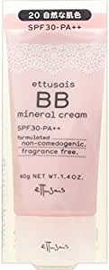 エテュセ BBミネラルクリーム 20(自然な肌色) SPF30・PA++ 40g