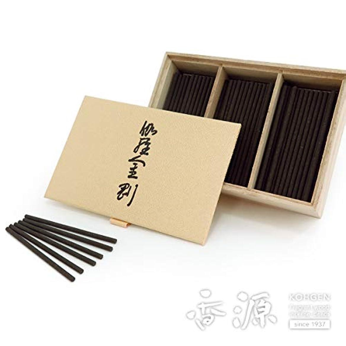 動詞公平なくびれた日本香堂のお香 伽羅金剛 スティックミニ寸お徳用 150本入り