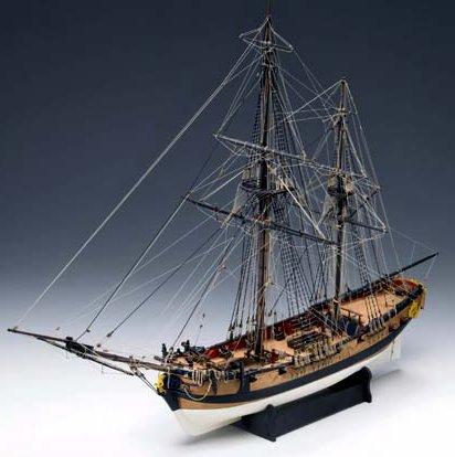 871 輸入木製帆船模型 ビクトリーモデル1300-02/グラナード(臼砲艦)