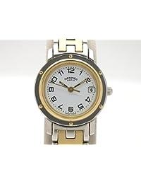 (エルメス)HERMES 腕時計 クリッパー レディース時計 CL4.220 GP/SS 中古