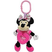Disney - Minnie Bow Cute Chime and ChewStuffed Plush Toy,15 x 8 x 6cm