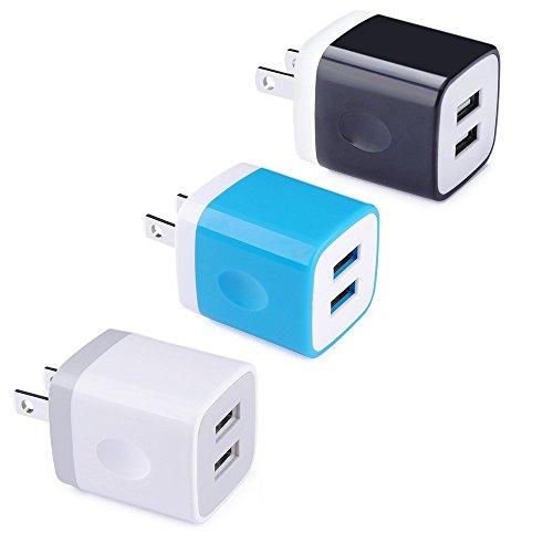 USB充電器 Viviber ACアダプター 2ポートUSB...