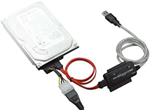 GREEN HOUSE SATA/IDE-USB2.0変換アダプター 2.5インチHD対応 GH-USHD-IDESA