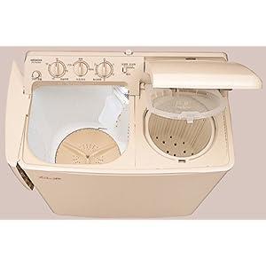 HITACHI 青空 2槽式洗濯機 パインベージュ PS-H45L-CP