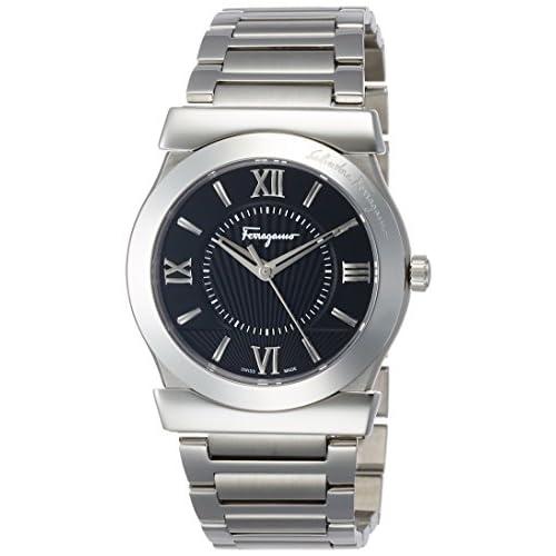 [サルヴァトーレ・フェラガモ]Salvatore Ferragamo 腕時計 VEGA ブラック文字盤 FI0940015 メンズ 【並行輸入品】
