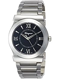 5efda1398e [サルヴァトーレ・フェラガモ]Salvatore Ferragamo 腕時計 VEGA ブラック文字盤 FI0940015 メンズ 【並行