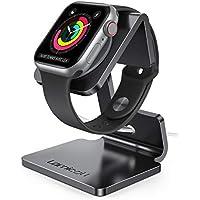 Apple Watch 充電スタンド 置くだけで充電 Series 6 SE 38mm 40mm 42mm 44mm 全機種対応 Lomicall アップルウォッチ 卓上スタンド : applewatch アルミ 充電 ドック 充電機 ライトニング スタンド デスク ドック 卓上 充電ケーブル 収納 ナイトスタンド クレードル アップルウォッチ シリーズ Apple Watch Series 1 2 3 4 5 6 SE charge stand