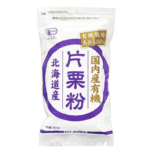 ムソー 国産有機片栗粉 200g  5袋