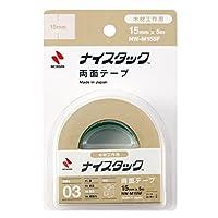 ニチバン 両面テープ ナイスタック 木材工作用 15mm×5m NW-M15SF