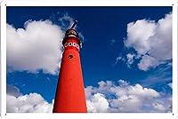 灯台1204のティンサイン 金属看板 ポスター / Tin Sign Metal Poster of Lighthouse 1204