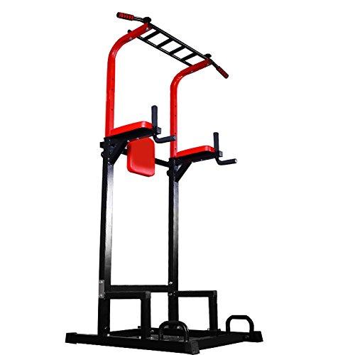 MIRAIS 懸垂王 マルチ チンニングスタンド 懸垂マシン 筋肉 トレーニング (ブラック) MR-KENSUIOH-BK