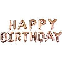 YideaHome 誕生日バルーン 誕生日 飾り付け 風船 16インチ パーティー 装飾 風船、バースデー アルミ 豪華 HAPPY BIRTHDAY 飾り 装飾セット