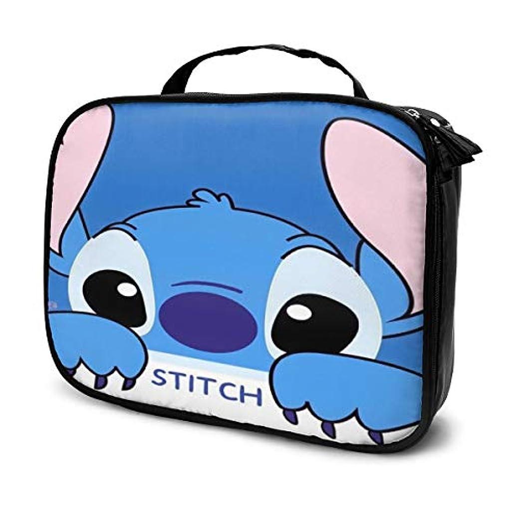 低下属性ハチDaituスティッチ 化粧品袋の女性旅行バッグ収納大容量防水アクセサリー旅行