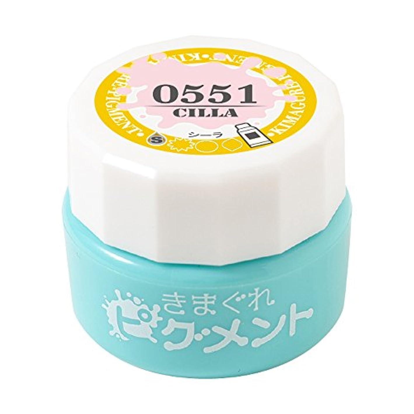 タフ晴れ経度Bettygel きまぐれピグメント シーラ QYJ-0551 4g UV/LED対応