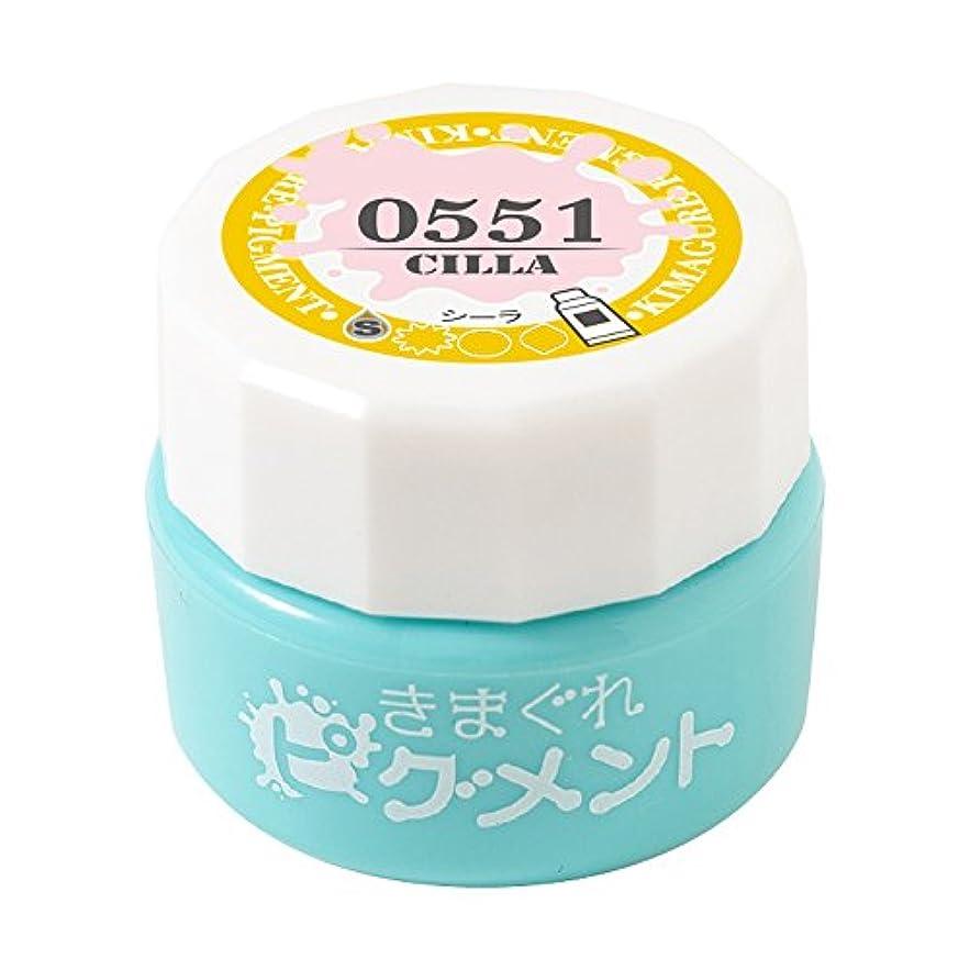 ダイヤル口実渇きBettygel きまぐれピグメント シーラ QYJ-0551 4g UV/LED対応