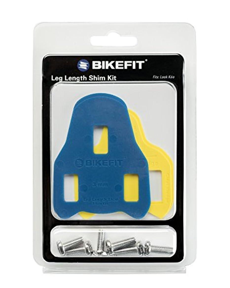 について横たわる異常Bike Fit Look Keo Leg Length Shim with Screws, 3mm by BikeFit