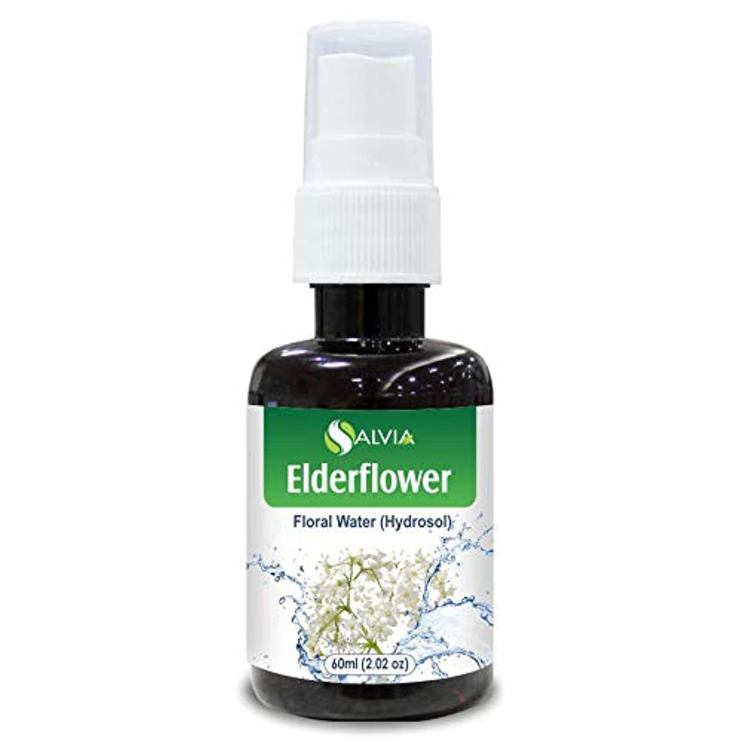 雇った雨自宅でElderflower Floral Water 60ml (Hydrosol) 100% Pure And Natural