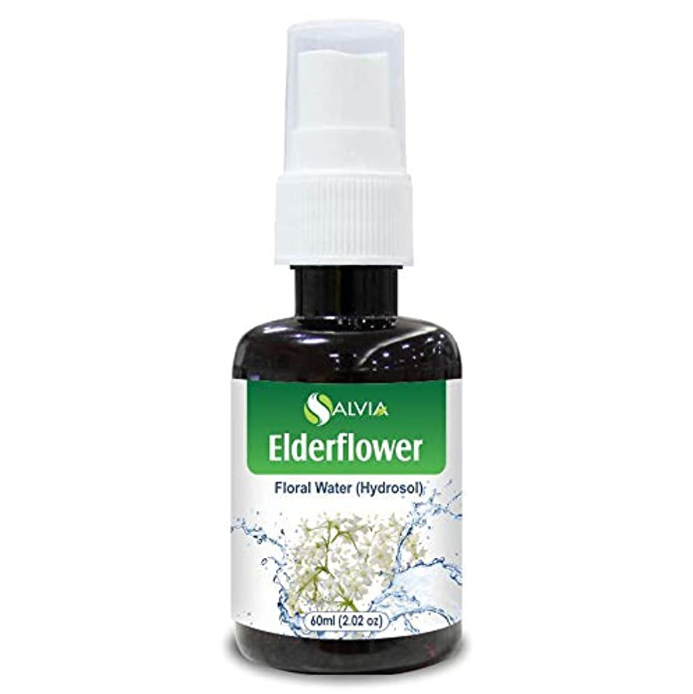 廃棄前文上陸Elderflower Floral Water 60ml (Hydrosol) 100% Pure And Natural