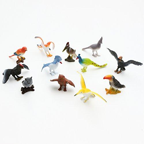 動物のフィギュア 世界の鳥1 12種 [並行輸入品]