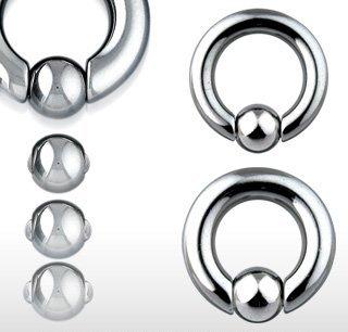 [ラプラス]laplace ボディピアス body-piercing スプリング ボール スナップイン キャプティブ ビーズリング 【 ボディーピアス 】