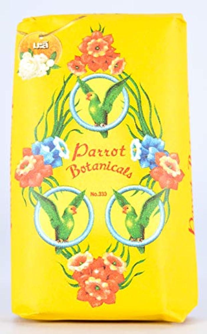 便益無知噴出するParrot Soap Botanicals Jasmine Fragrance 70g.x4