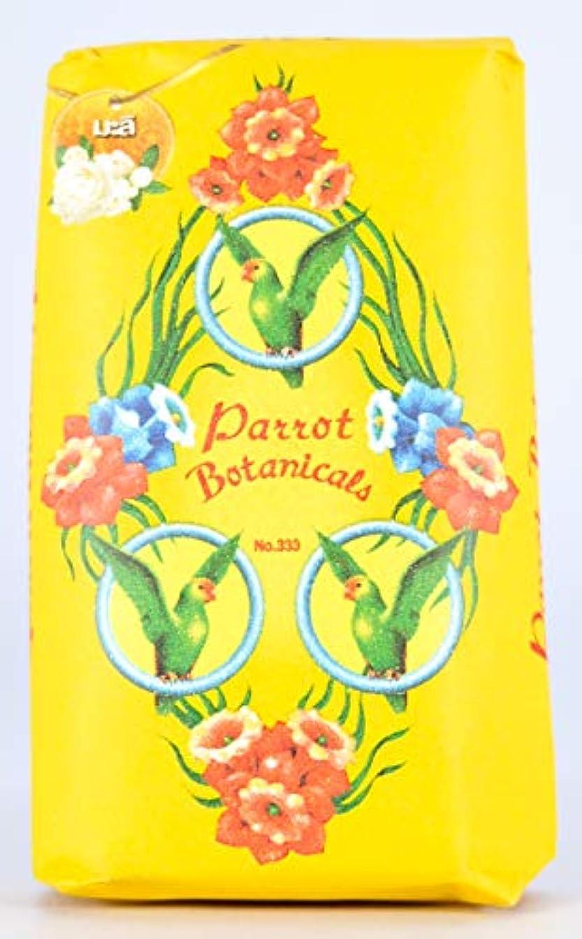 マディソン透明に職業Parrot Soap Botanicals Jasmine Fragrance 70g.x4
