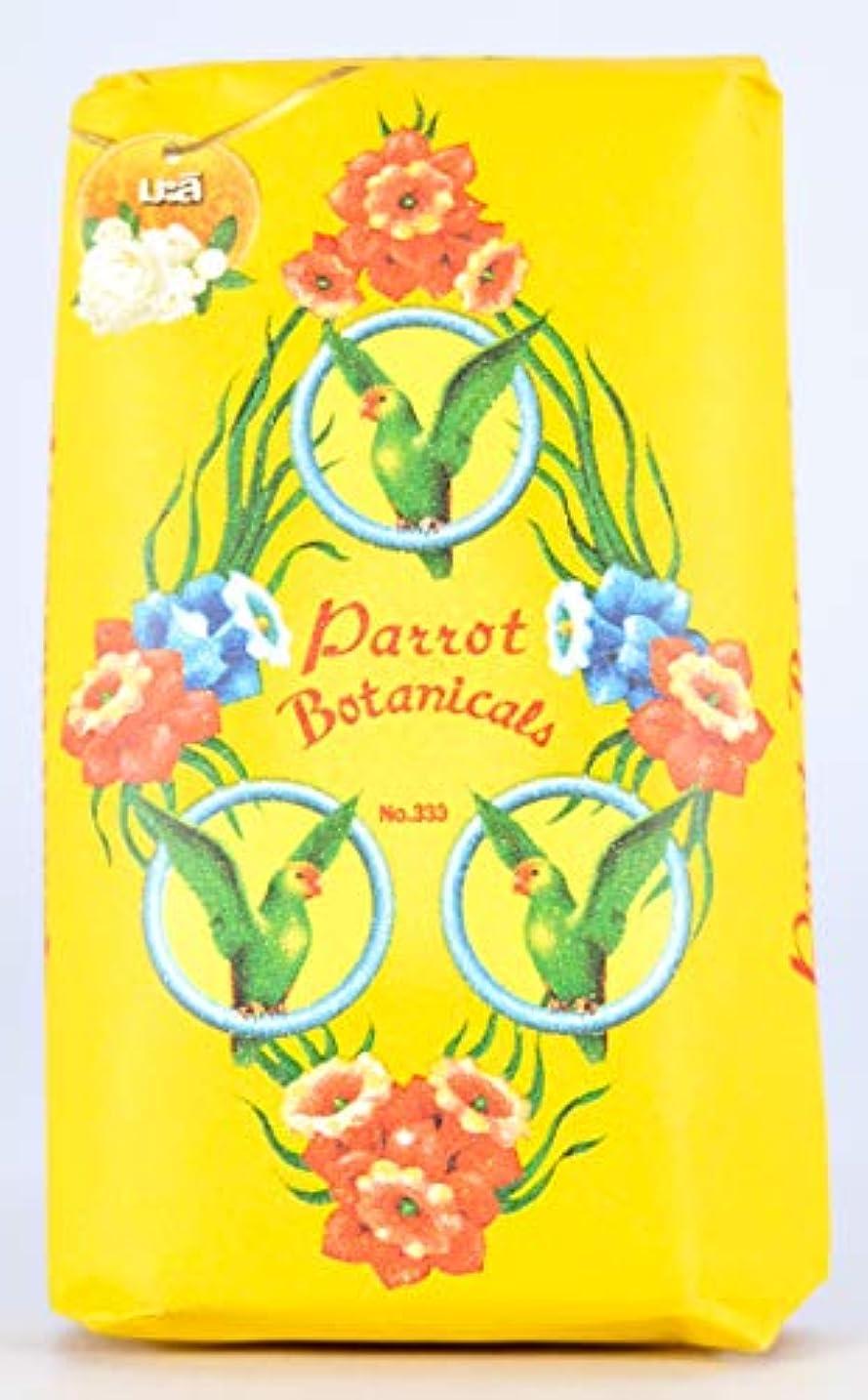 広範囲忠誠アレキサンダーグラハムベルParrot Soap Botanicals Jasmine Fragrance 70g.x4