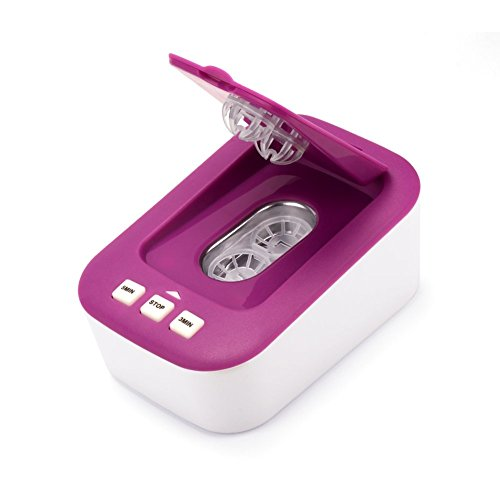 超音波コンタクトレンズ洗浄機,超音波洗浄機,小さくて、持ち運...