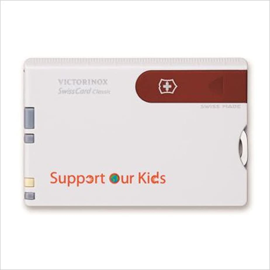 プレミアサスティーン運営VICTORINOX(ビクトリノックス) スイスカード Support Our Kids 【日本正規品】 JSK-07107