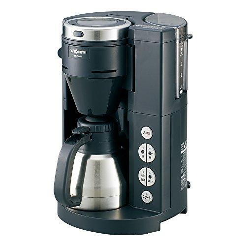 象印 全自動コーヒーメーカー ステンレス魔法瓶サーバー1~4杯...