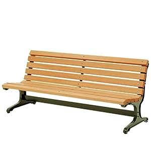 サニーベンチ 背もたれ付き 幅180cm ガーデンベンチ